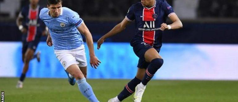 Mbappe, sezonun başında dört Şampiyonlar Ligi maçında sekiz gol attı, ancak ilk maçta City gol atamadı.