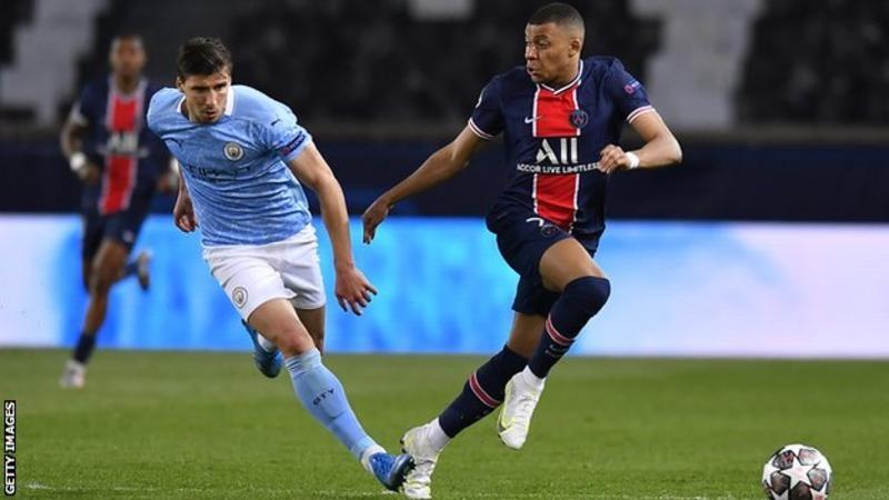 Mbappe, sezonun başında dört Şampiyonlar Ligi maçında sekiz gol attı, ancak ilk maçta City gol atamadı.<br>
