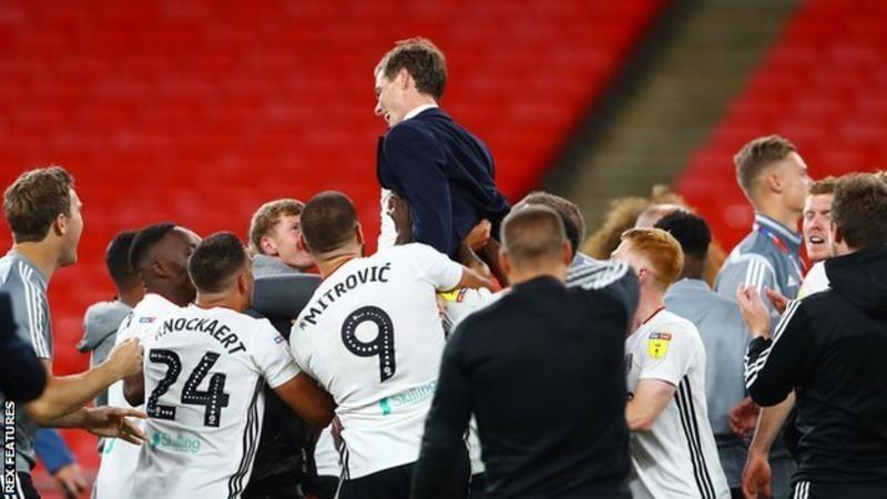 Fulham, Ağustos ayında Wembley playoff finalinde brentford'u 2-1 yenerek Premier league'e terfi etti.<br>